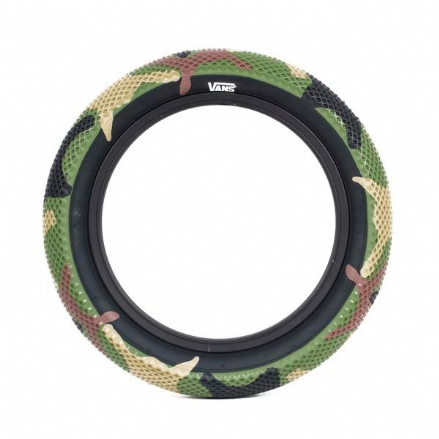 "Cult 18"" Vans Tyre - Camo With Black Sidewall 2.30"""